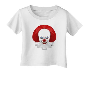 Scary Clown Face 2 - Halloween Infant T-Shirt