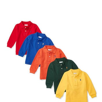 COTTON MESH POLO 5-PIECE SET