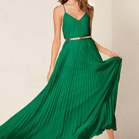 Knife-pleat Maxi - Victoria's Secret