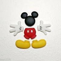 Silicone Molds Mickey Mouse Moulds (20-29mm) Fondant Icing Chocolate Clay Candy