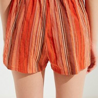 Urban Renewal Remnant Striped Short | Urban Outfitters
