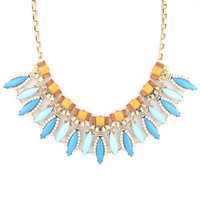 Sky Full of Stars Necklace in Blue