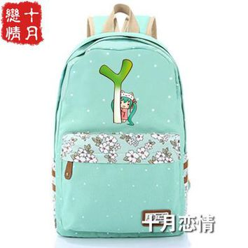 Anime Backpack School kawaii cute Hatsune Miku cosplay Campus Student Men and Women Fashion College Style Schoolbag Backpack Travel Bag AT_60_4