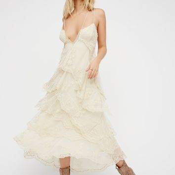 Free People Maiden Cove Midi Dress