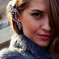 Sirenlondon — Elf Diamonte Ear Cuff