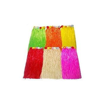 Silk Hula Skirt - Assorts Colors