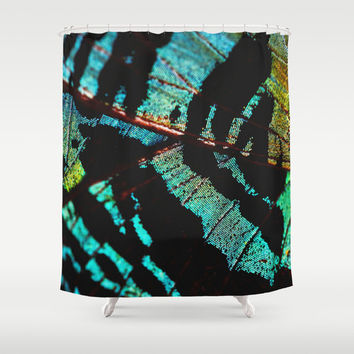 Shower Curtain - Sunset Moth - Shower Curtain - Butterfly - Nature Shower Curtain - Woodland - Rustic Shower Curtain
