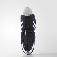 adidas Superstar Suede Shoes - Blue | adidas US
