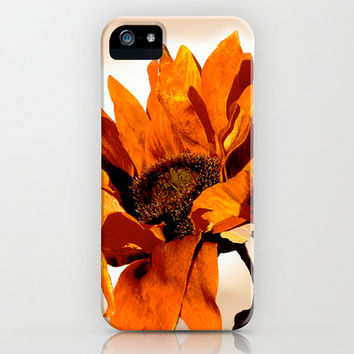 iPhone Case, 5/5s - 4/4s, Samsung Galaxy S4, Gadget Case, Mobile Device Case, Cell Phone, Floral, Sunflower, Gifts for Her, Etsy ArtBJC