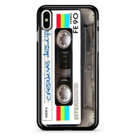 Cassette Tape Design iPhone X Case
