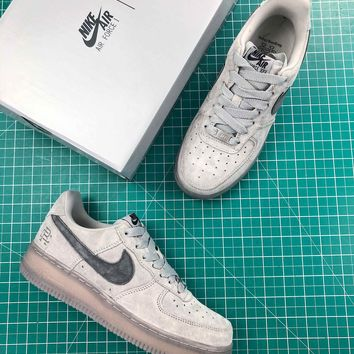 Reigning Champ X Nike Air Force 1 Low Af1 Gray Sport Shoes - Best Online Sale
