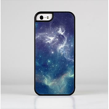 The Subtle Blue and Green Nebula Skin-Sert for the Apple iPhone 5-5s Skin-Sert Case