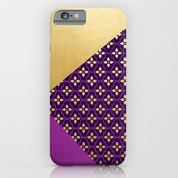 Moroccan Flair iPhone & iPod Case by Whitney Werner