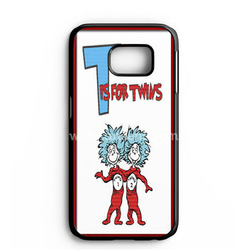 Thing 1 And Thing 2 Samsung Galaxy Note 7 Case | aneend