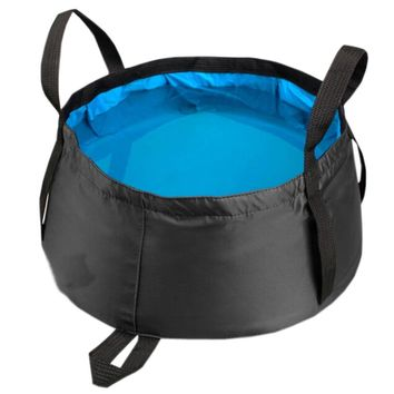 TEAL All Purpose Utility Bucket Camp Pail Collapsible Sink Foldable Can, 15L