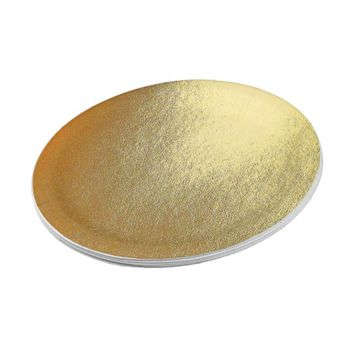 Shiny Gold Art Paper Plate
