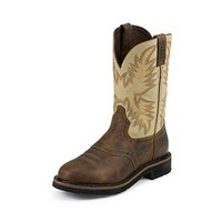 Justin WKL4660 Stampede Brown Waxy Women's Boots