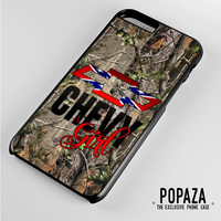 Camo Chevy Girl iPhone 6 Plus Case Cover