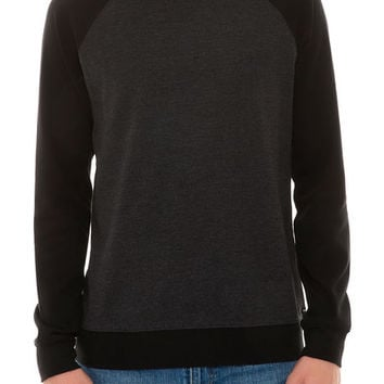The After After Raglan in Charcoal Heather