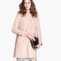 Fitted Coat - from H&M