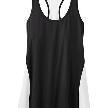 Athleta Womens Colorblock Chi Tank Extra Long