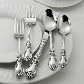 Oneida Louisiana 48 Piece Fine Flatware Set, Service for 8