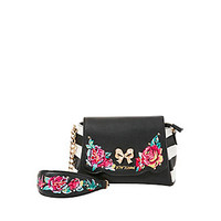 BELLE ROSE CROSSBODY: Betsey Johnson