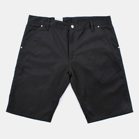 Carhartt Lincoln Simple Shorts - Black Rigid at Urban Industry