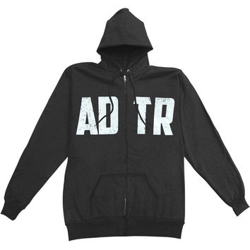 A Day To Remember Men's  Spider Zippered Hooded Sweatshirt Black