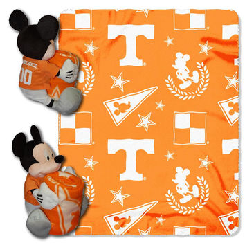 Tennessee Volunteers NCAA Mickey Mouse with Throw Combo