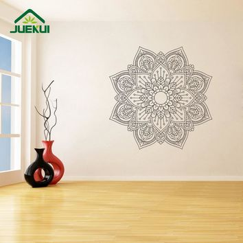 Mandala Wallpaper Art Murals Removable Wall Stickers for Meditation Yoga Home Decor Vinyl Decals Living Room Poster K766