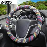 Handlebar Braid Wrap Natural Fibers Steering Wheel Cover