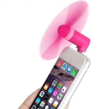 Mini Portable iPhone Lightning Fan Adapter