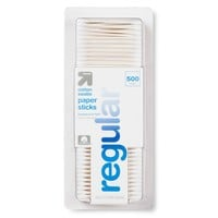 Cotton Swabs Paper Sticks - 500ct -up & up™