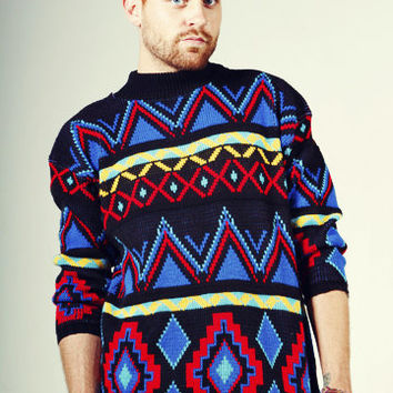 Aztec Cosby Sweater