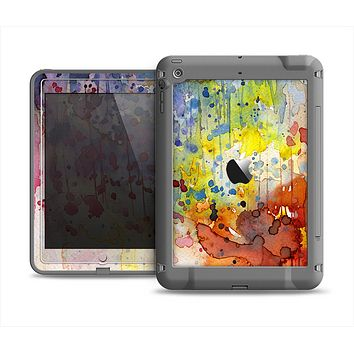 The WaterColor Grunge Setting Apple iPad Air LifeProof Fre Case Skin Set