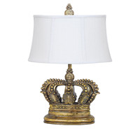 Crestview Crown Table Lamp - CVAVP114