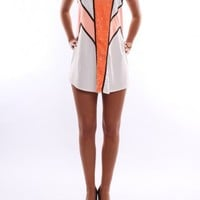 Wildfire Dress Orange - Womens