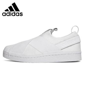 PEAPON Original Adidas Originals superstar slip on Women's Skateboarding Shoes Sneakers