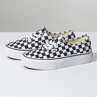 Checkerboard Authentic Platform 2.0 | Shop At Vans