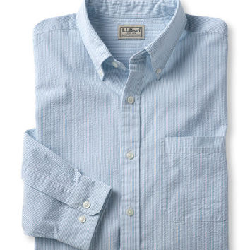 Seersucker Shirt, Traditional Fit Stripe: Traditional Fit | Free Shipping at L.L.Bean