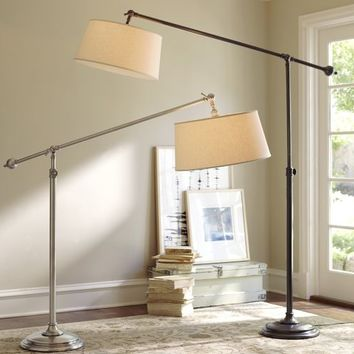 chelsea sectional floor lamp from pottery barn home. Black Bedroom Furniture Sets. Home Design Ideas