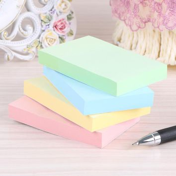 100 sheets color Pepsi stick note paper 51* 76mm paper notes paper to facilitate the N times posted a total of 4 packets