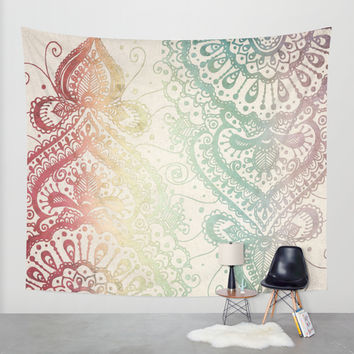Friday Afternoon Wall Tapestry by Jenndalyn