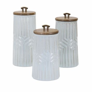 Tia Canisters - Set Of 3