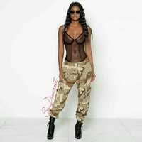 """CAMO CANDY"" Camouflage Pants"
