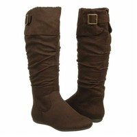 Women's Rampage  Benedetto Brown Faux Suede Shoes.com