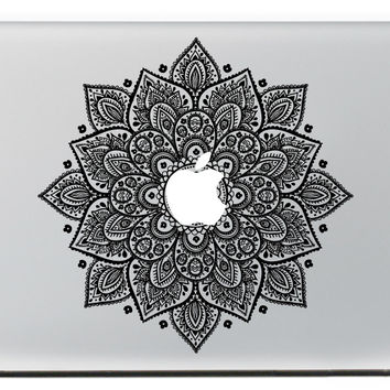 NEW Classic Flowers Vinyl Decal For macbook sticker 13 15 Pro/Air/Retina laptop skin MC-003