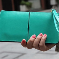 women wallet winter explosion models leather cowhide single pull clutch fashion large capacity