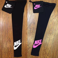 Nike Women Fashion Running Leggings Pants Sweatpants
